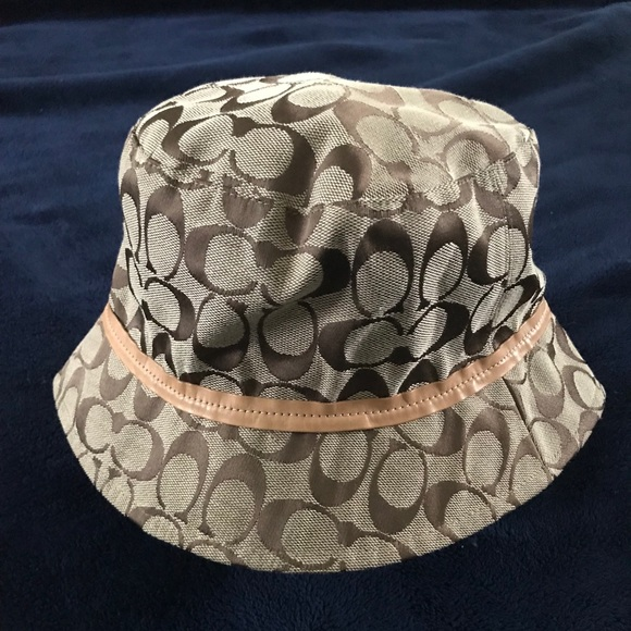 93edd81d631 Coach Accessories - Coach Monogram Bucket Hat